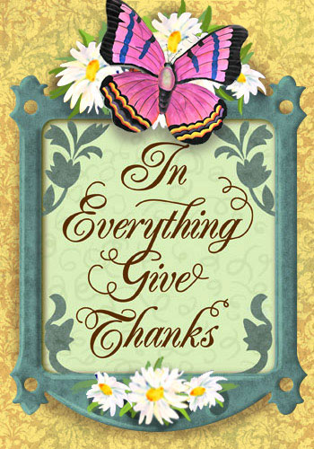 Everything Give Thanks